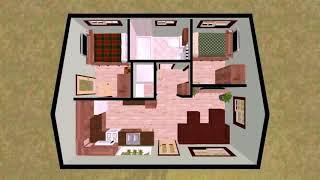 12 X 20 Tiny House Floor Plans - Gif Maker Daddygif.com See Description