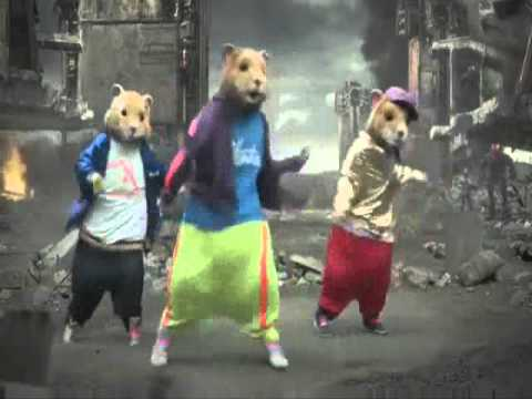 Kia Hamster Commercial >> KIA SOUL HAMSTER & HALO DANCING TO PARTY ROCK. - YouTube
