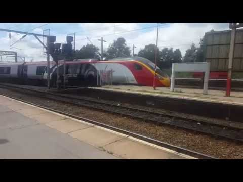 Trains at Crewe WCML 18/7/16