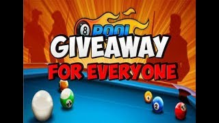 ⭕[Live] 8 BALL POOL LIVE COINS #GIVEAWAY# BIG GIVEAWAY FOR SUBSCRIBER | CHECK DESCRIPTION FOR RULES
