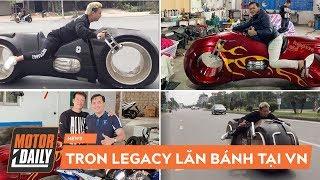 """""""Đập thùng"""" và chạy thử Tron Legacy tại Việt Nam - Siêu mô tô mà Phúc XO cũng đặt mua"""