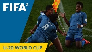 Honduras v. Fiji - Match Highlights FIFA U-20 World Cup New Zealand 2015