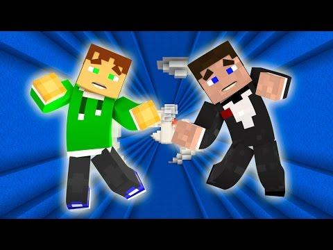 Прохождение карт в Minecraft: МЫ ПАДАЕМ АААА!!