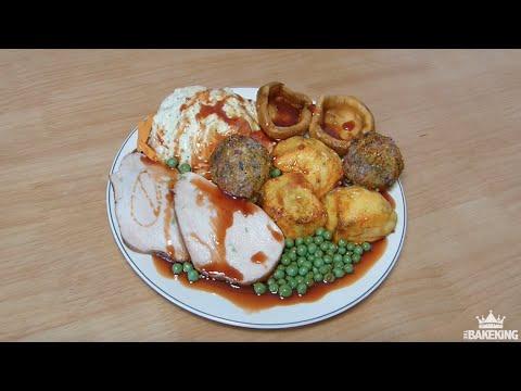 Roast Dinner Illusion CAKE