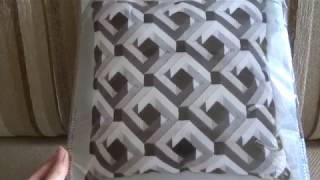 Подушка в технике Барджелло/Vervaco/От обзора набора до готовой работы