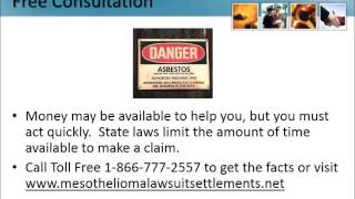 Mesothelioma Lawyer Danville Pennsylvania 1-866-777-2557 Asbestos Lawsuit PA Lung Cancer