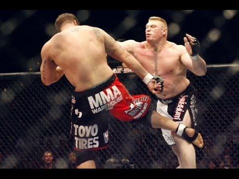 Ufc 100 brock lesnar asshole that's
