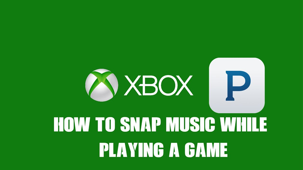 How to listen to music while playing a game on Xbox One