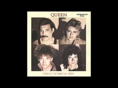 Queen - I Want To Break Free (Only Vocals)