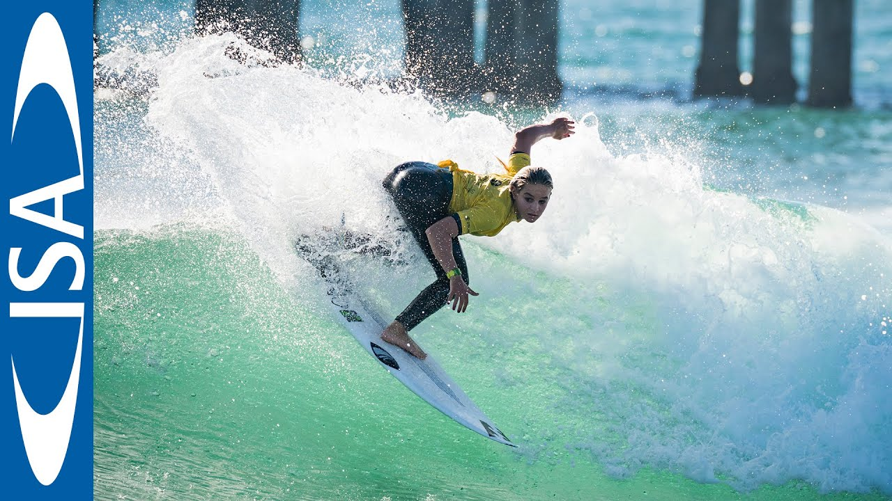 World's best U-18 surfers to go for Gold in 2019 VISSLA ISA World Junior Surfing Championship