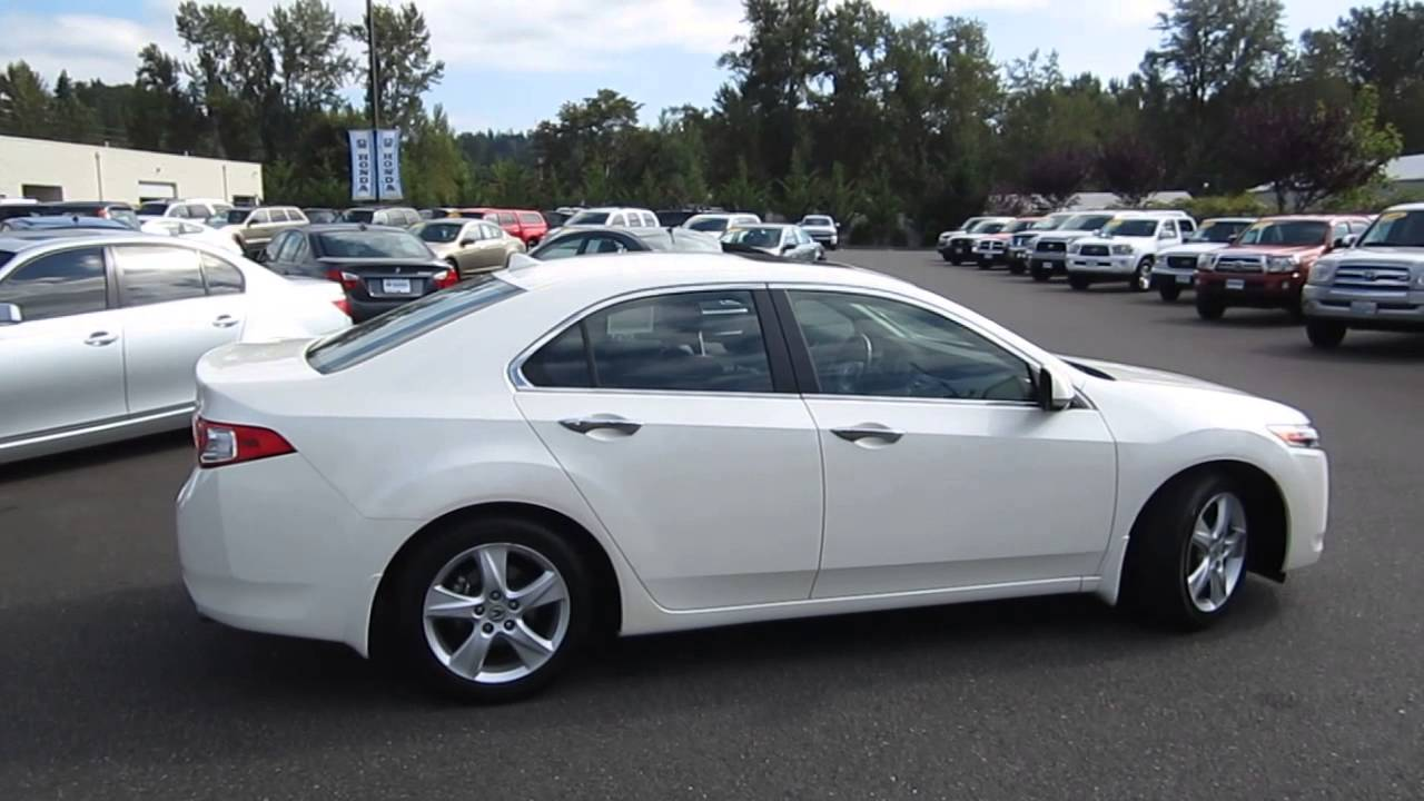 2010 acura tsx white stock b2243 walk around youtube. Black Bedroom Furniture Sets. Home Design Ideas