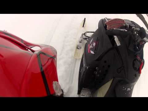 ski-doo rev union bay 944cc triple (test drive)