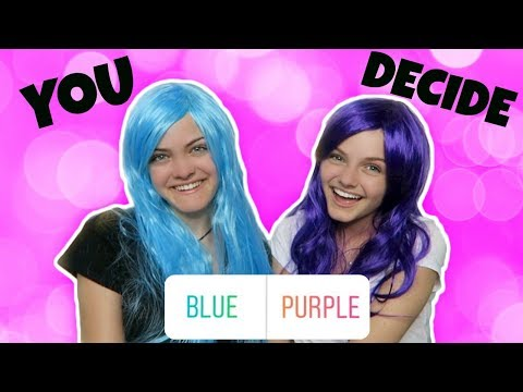 Our Instagram Followers Choose Our Hair Color ~ Jacy and Kacy