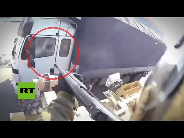 Un soldado estadounidense dispara hacia un camionero afgano para divertirse