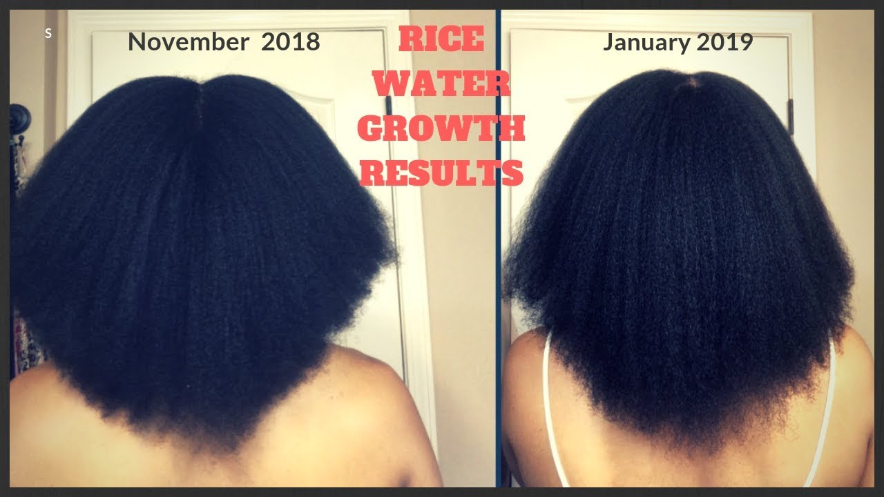 How can i use rice water to make my hair grow