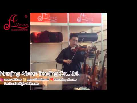 [Aileen Music - Professional Musical Instruments Supplier] VIOLIN SOLO at 2013 Frankfurt Music Messe