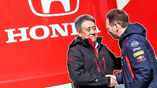 """Honda F1 """"Will Consider"""" Allowing Red Bull Takeover"""