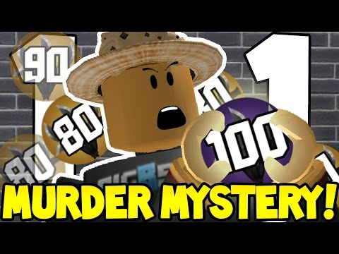 BEING SCARED TO PRESTIGE in ROBLOX MURDER MYSTERY 2