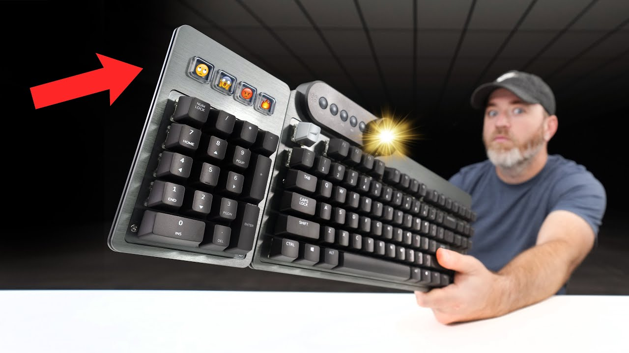 Download You've NEVER Seen a Keyboard Like This...