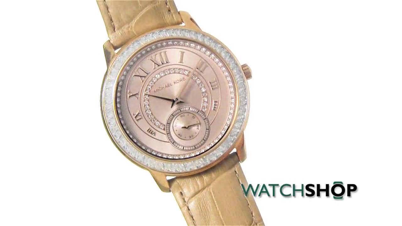 e335c59f362a Michael Kors Ladies  Madelyn Watch (MK2448) - YouTube