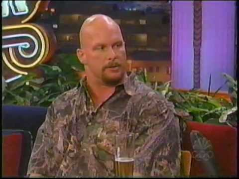 Stone Cold Steve Austin on Tonite Show (2001)