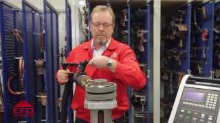 induction bolt heating demonstration by efd induction