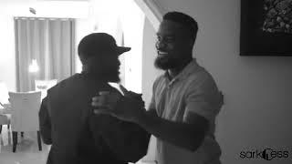 Nigerian rap Legend MI Abaga hits the studio with Sarkodie
