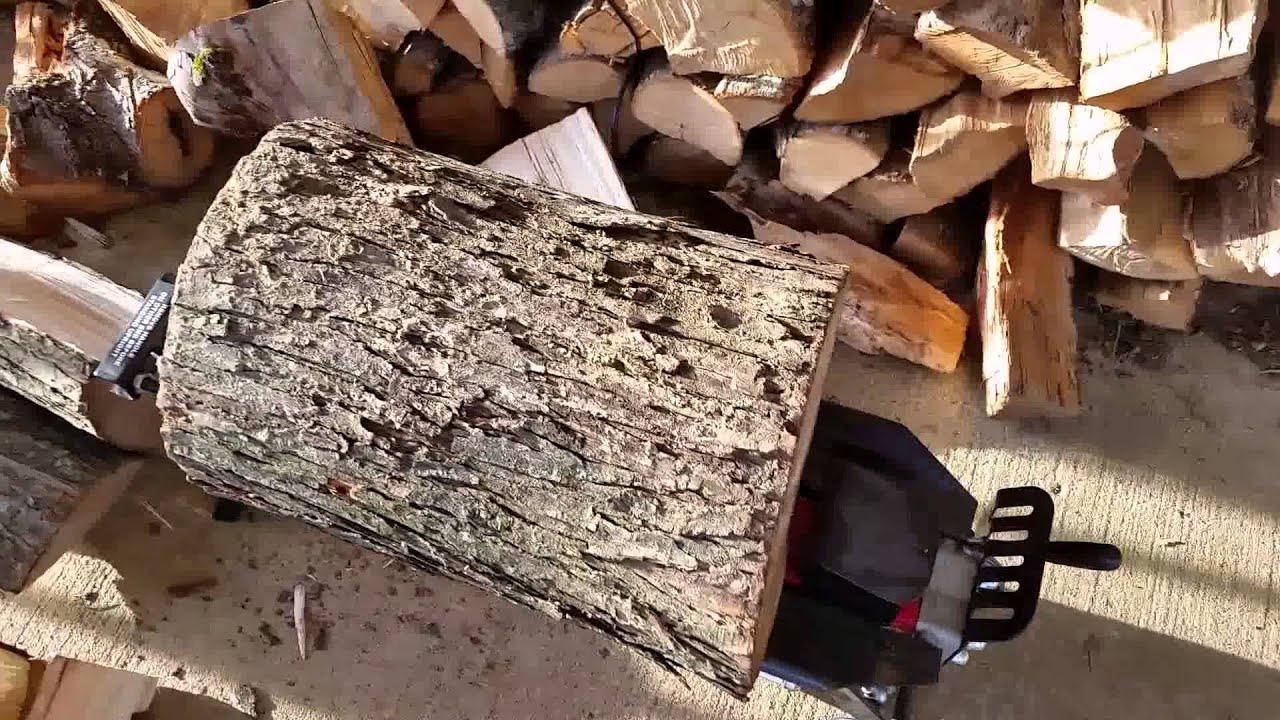 harbor freight manual log splitter