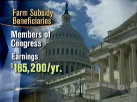 Farm Subsidies For The Rich?