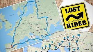 Ruta en Moto LOST RIDER por 18 paises de Europa