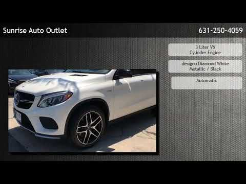 Sunrise Auto Outlet >> 2017 Mercedes Benz Amg Gle 43 4matic Coupe Amityville