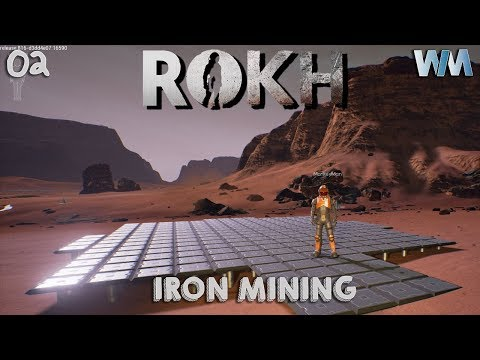 ROKH Multiplayer EP02 - Crafting Tiles & Iron Mining!