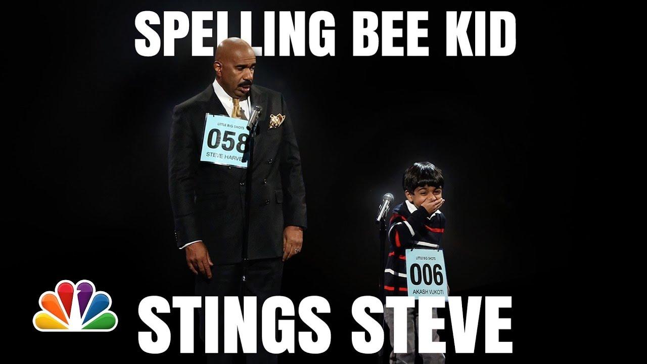Download Little Big Shots | Steve Harvey and Akash Funny Spelling Bee | Season 1 2016