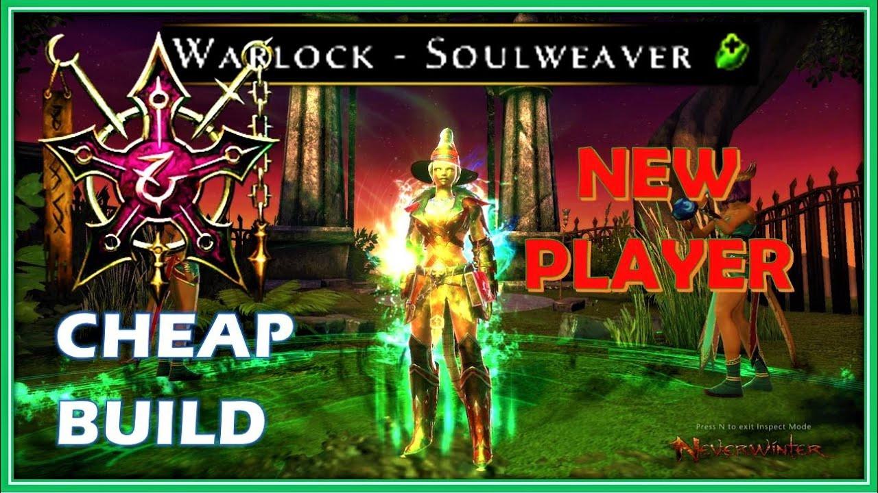 NEW Player Warlock Healing Part 1 - CHEAP Build & Setup - M19 Neverwinter
