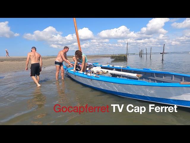 LA TESTE - Concours  des Interviews des Pinasseyres Bassin d'Arcachon Ep 2 Pinasses à voile
