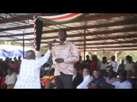 Governor Nanok's speech that provoked...