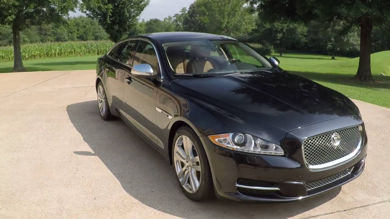 2014 hd video 2012 jaguar xjl portfolio executive long. Black Bedroom Furniture Sets. Home Design Ideas