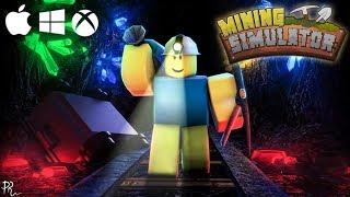 MINAGE IN BONBONS! - Roblox #3 - Mining Simulator