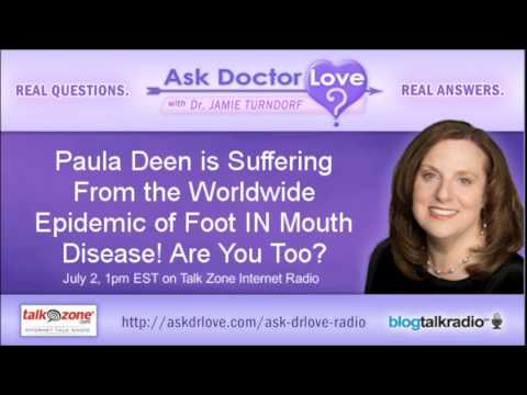 Paula Dean is Suffering From the Worldwide Epidemic of Foot IN Mouth Disease! Are You Too?