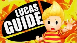 Lucas Strategy Guide - Super Smash Bros. Wii U/3DS (Moveset, Combos & Tech)