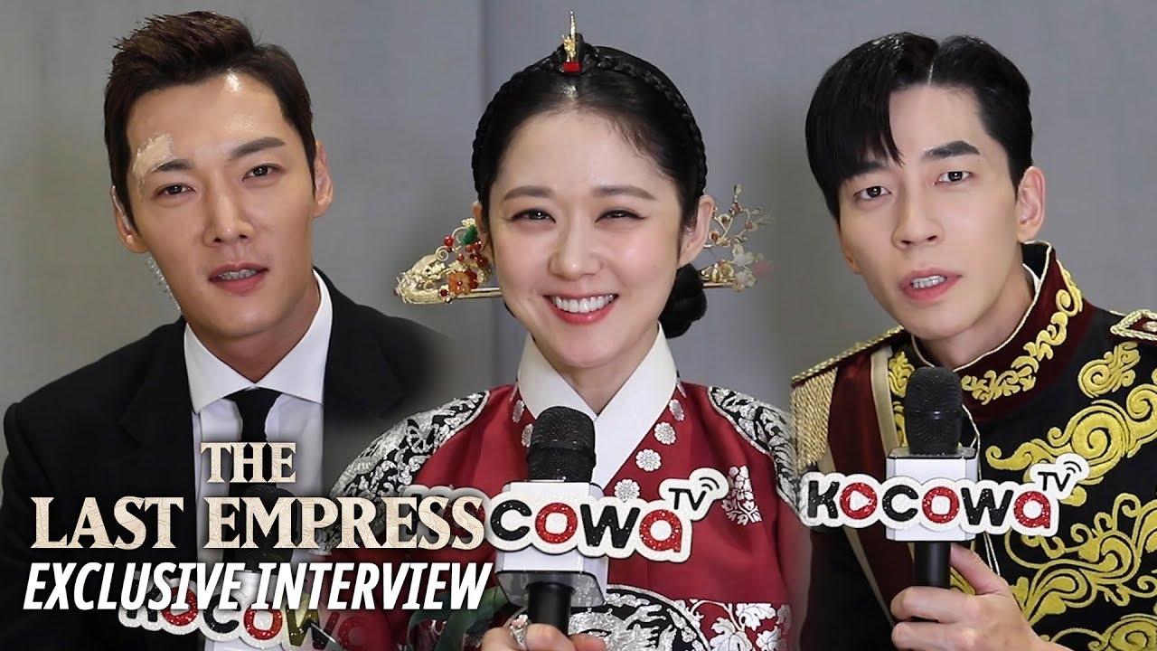 [Exclusive InterviewㅣThe Last Empress] Jang Na Ra, Choi Jin Hyuk, Shin Sung  Rok