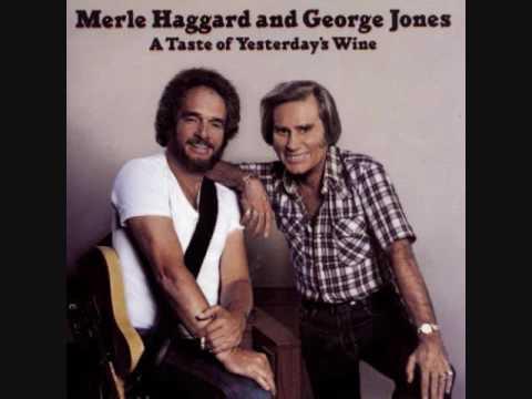 George Jones and Merle Haggard - A Taste of Yesterday's Wine {LP}