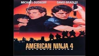 Ninja Americano 4 - Accion - Artes Marciales - Audio ingles - Sub Español