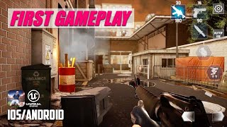 FINAL WARFARE - iOS / Android - FIRST GAMEPLAY (Unreal Engine 4)