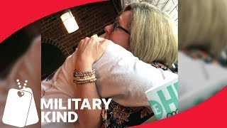 Airman's mom shocked by son's return