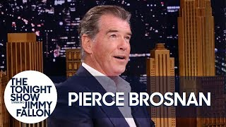 Pierce Brosnan Sold a Painting for a Million Dollars