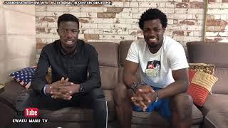 RAZAK BERIMA (Blackstar Goalkeeper) Begs Ghanaians on Kwaku Manu Aggressive Interview 🔥🔥