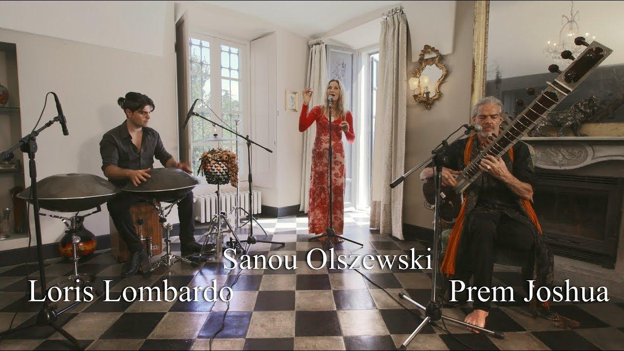 SITAR, HANDPAN & PERCUSSION, VOICE: Prem Joshua - Loris Lombardo - Sanou Olszewski - ASHOKA