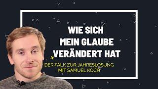 Samuel koch ist davon überzeugt: weil glaube dynamisch ist, verändert er sich. wie das bei ihm aussieht, erzählt im video.