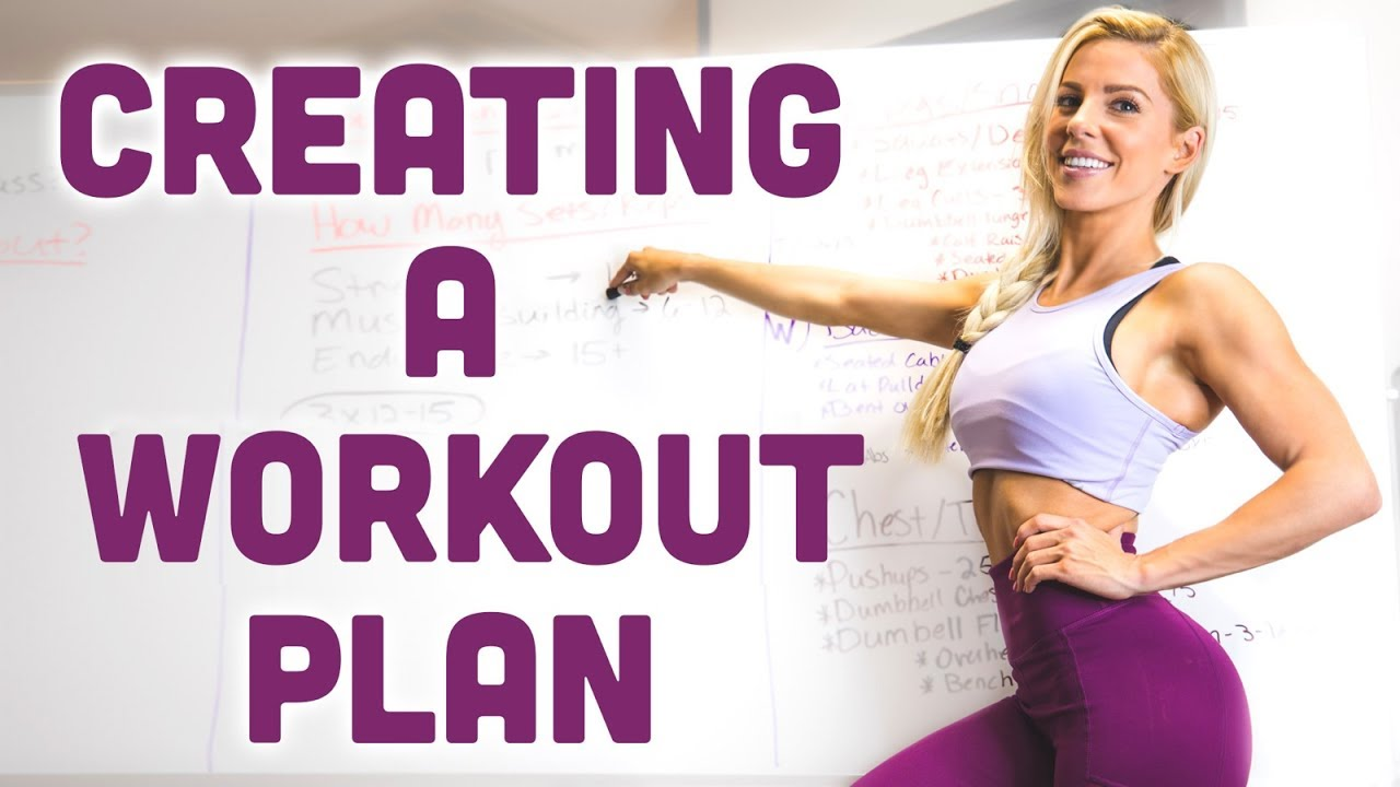 how to create a diet and exercise plan
